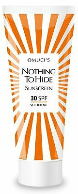 Vegan: Omuci's Nothing to Hide Eco Sun Shade SPF 30